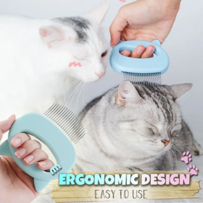 Pet Hair Removal Massaging Shell Comb - FREE with Members Only Coupon