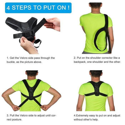 Back Posture Corrector - FREE with Members Only Coupon