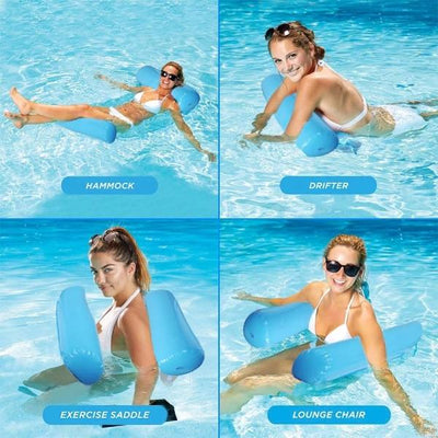 Inflatable Swimming Pool Floating Hammock - FREE with Members Only Coupon