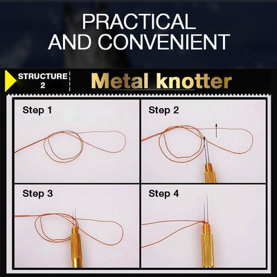 Fast Fishing Knot Tying Tool - Members Only