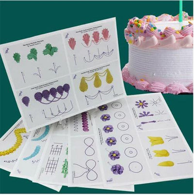 Cake Decorating Practice Boards - FREE with Members Only Coupon