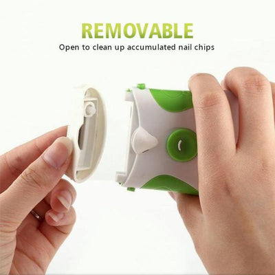 Electric Nail Trimmer & File - Members Only