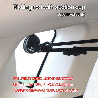 Fishing Rod Strap System