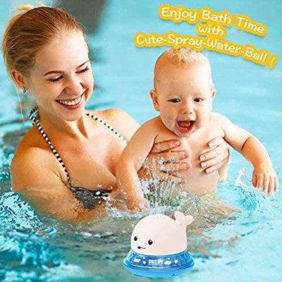 2-in-1 Bathroom Water Spray Toy