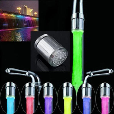 Hydro-Powered LED Water Faucet Light - Shop Marleys