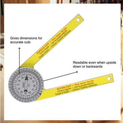 Professional Miter Protractor - Shop Marleys