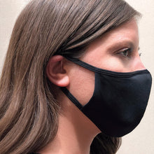 Load image into Gallery viewer, Smart Fiber Fabric Mask – Black  (as low as $4.10 per mask)