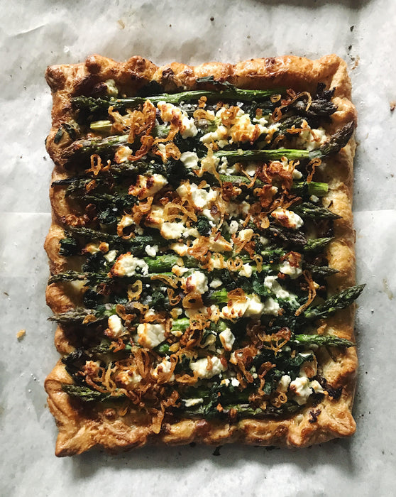 Roasted Vegetable Pastry Tart