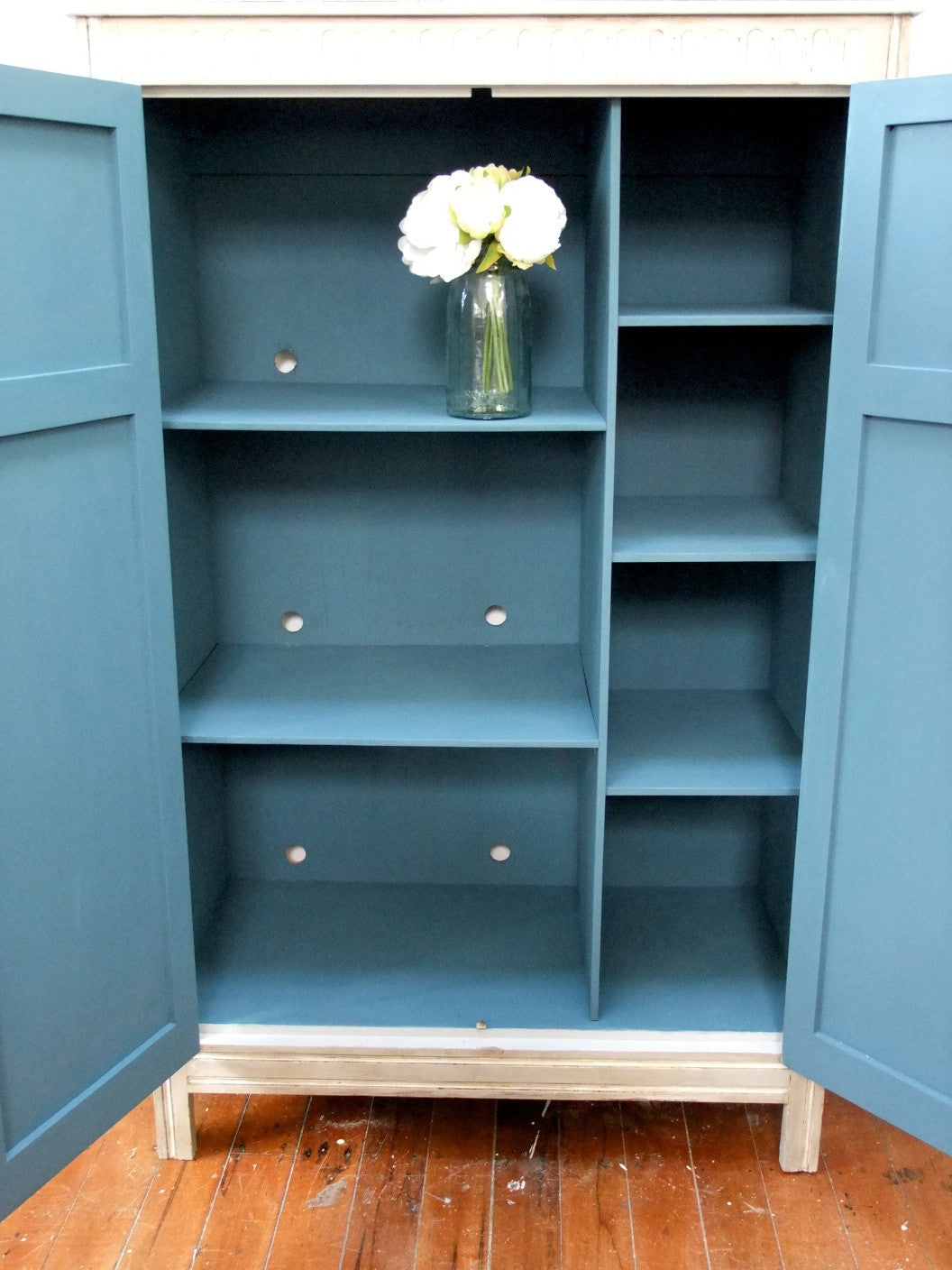 Commissioned Antique wardrobe and bedsides
