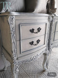 Commissioned Bedroom Suite in a french style white & blue finish