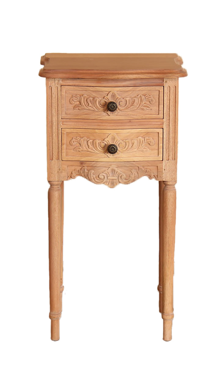 2 Drawer Rococo Bedside (set of 2)