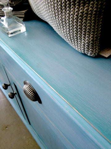 Sideboard: Louis Blue with Florence Wash