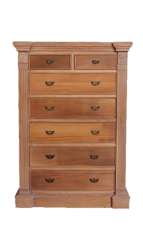 Victorian inspired solid 3 Drawer Chest