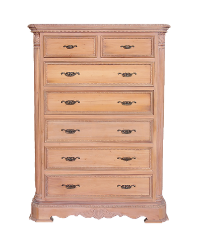 Laura - 7 Drawer Pillar Chest