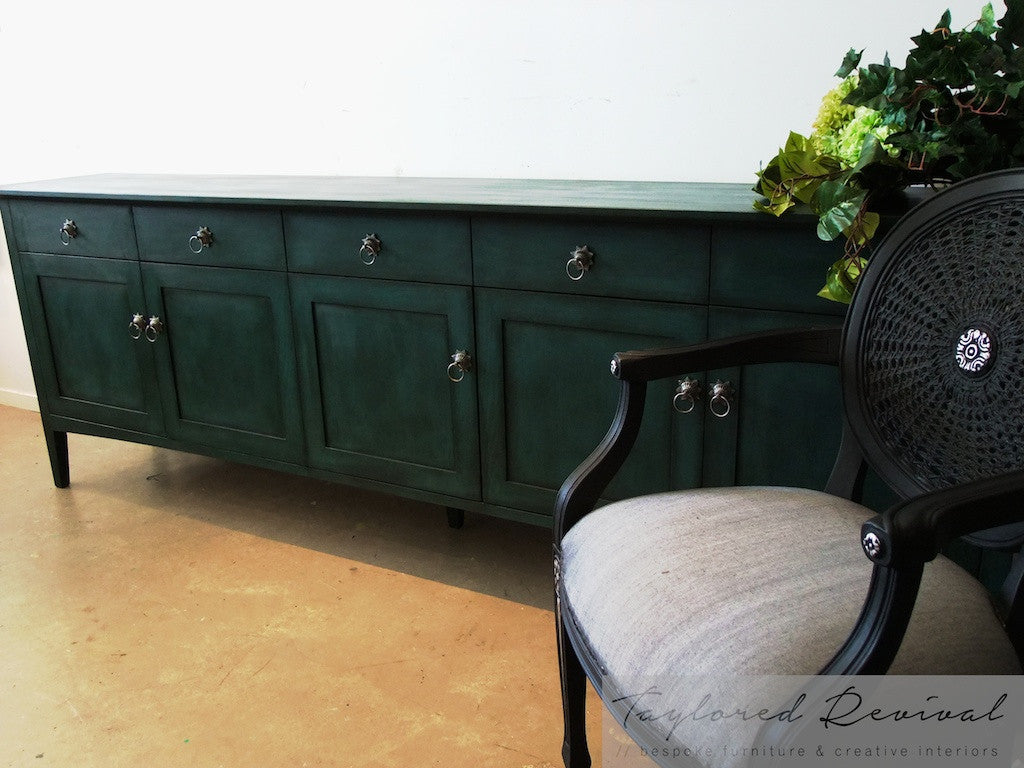 Commissioned Sideboard and Chairs