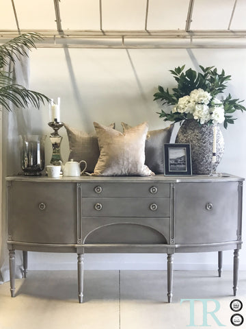 Emma: Curved front sideboard