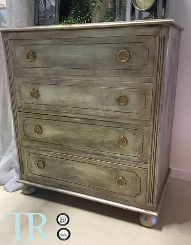 Aubrey: Rustic elegant set of drawers
