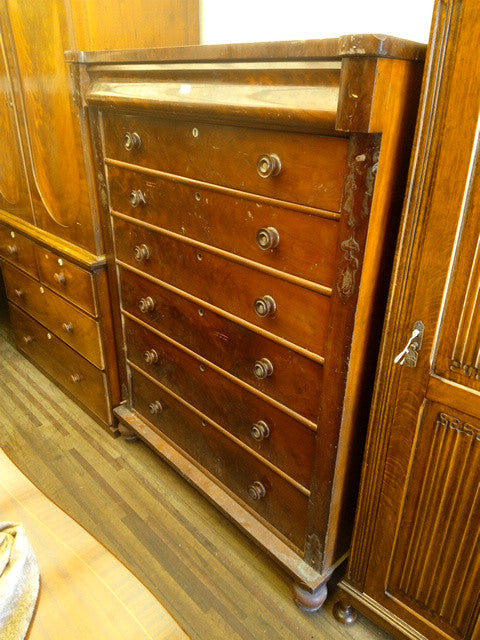 TR-70 Chest of Drawers Mahogany 1860-1900
