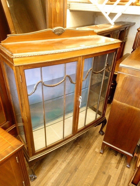 TR-69 Display Cabinet Mahogany 1900-1915