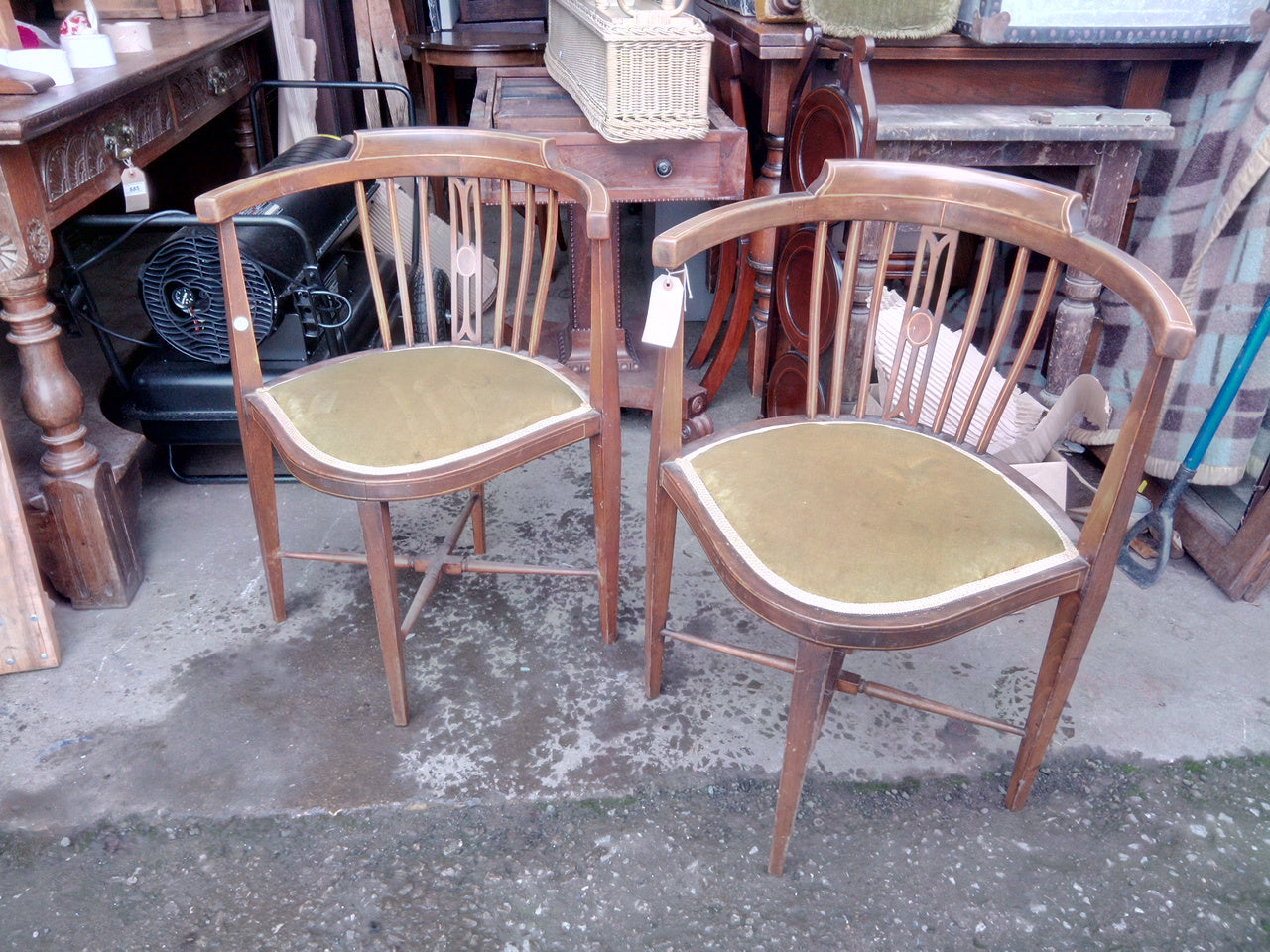 Commissioned Edwardian Chairs