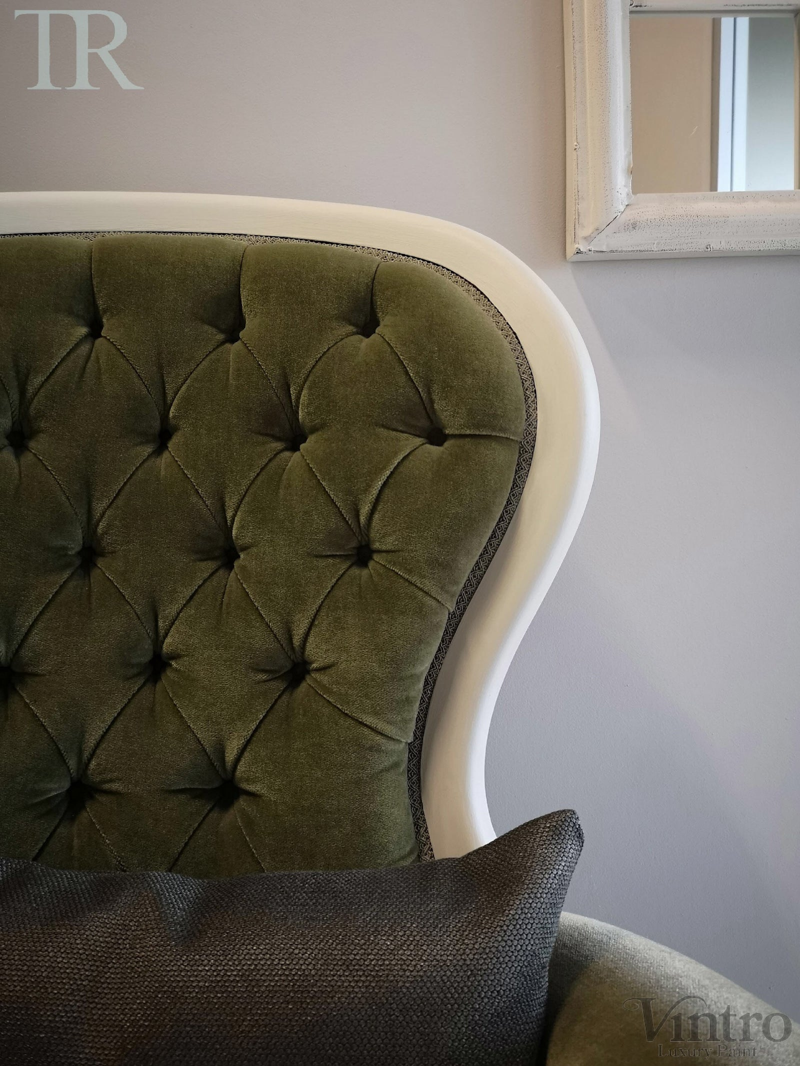 Commissioned Slipper Chair in Yorkshire Stone