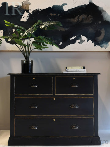 Commissioned sideboard in Emperor's Silk