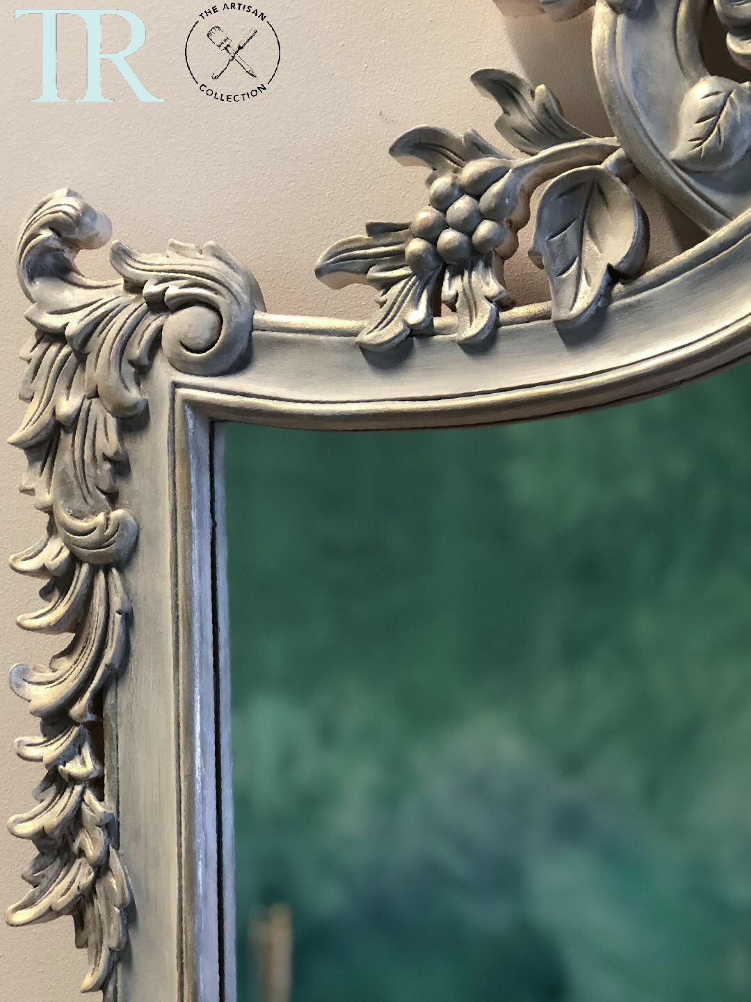 Adelia : French Imperial Style Mirror