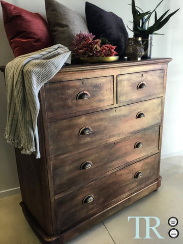 Zara: Bespoke rustic set of drawers