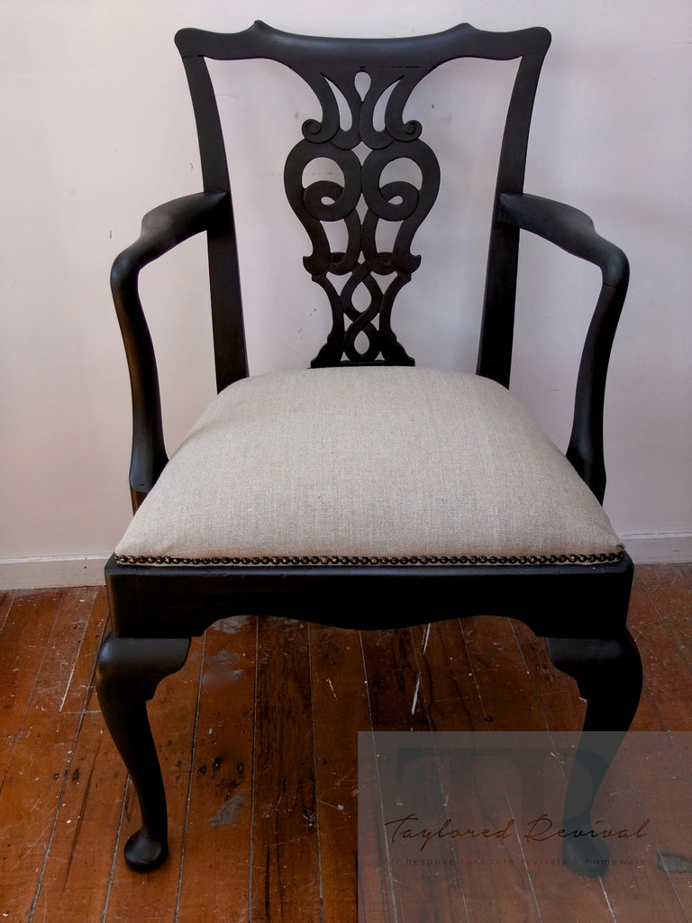 Rebecca - Antique Mahogany Georgian chair