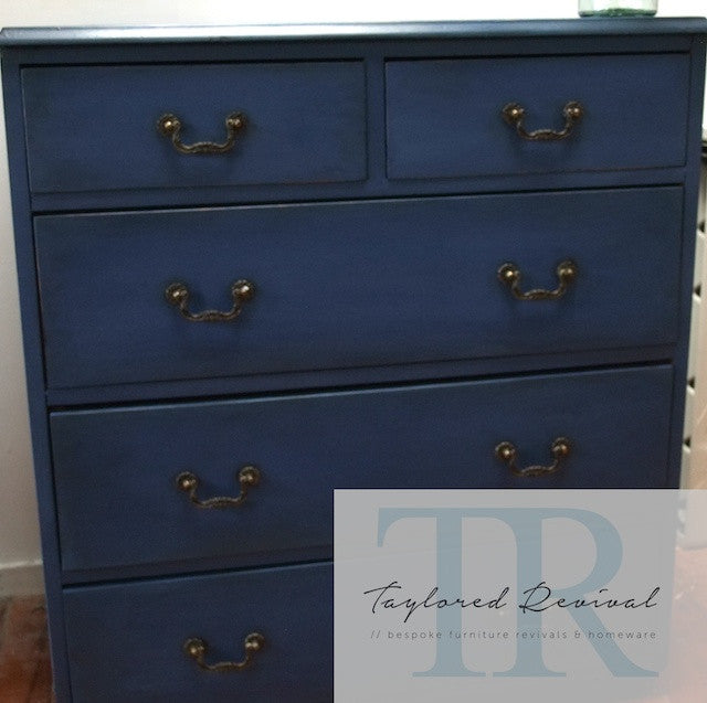 Commissioned Napoleonic Blue Dresser