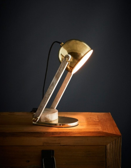 Karl Table Lamp - Brass
