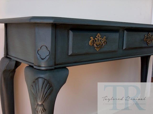 Abbey - claw foot writing bureau / hall table