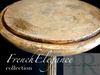 Charlotte : French Elegance Collection, Mahogany pot stand