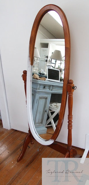 Commissioned Cheval Mirror