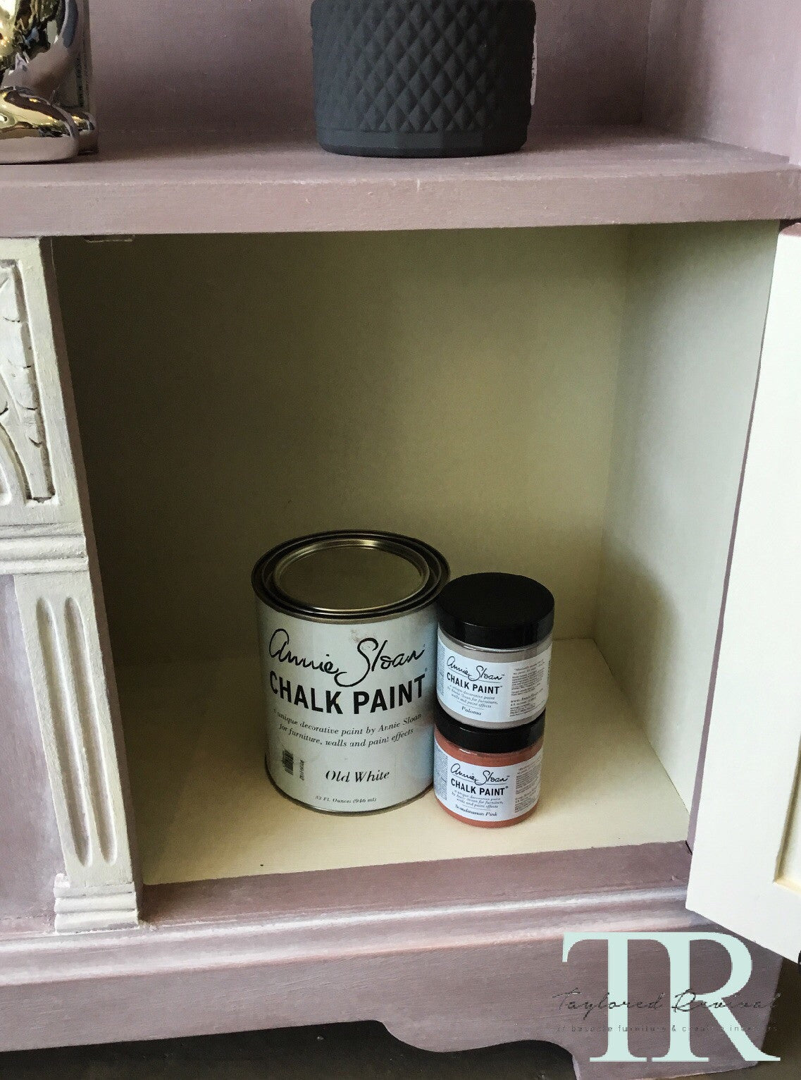 Aimee:  Small childrens open book shelf with cupboards