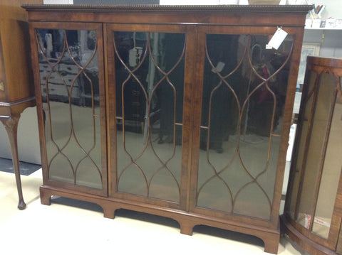 TR-163 Large Bookcase Mahogany Astragal-Glazed 1900-1915