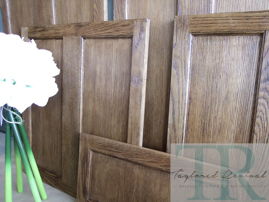 Commissioned Kitchen doors, finished in Annie Sloan waxes