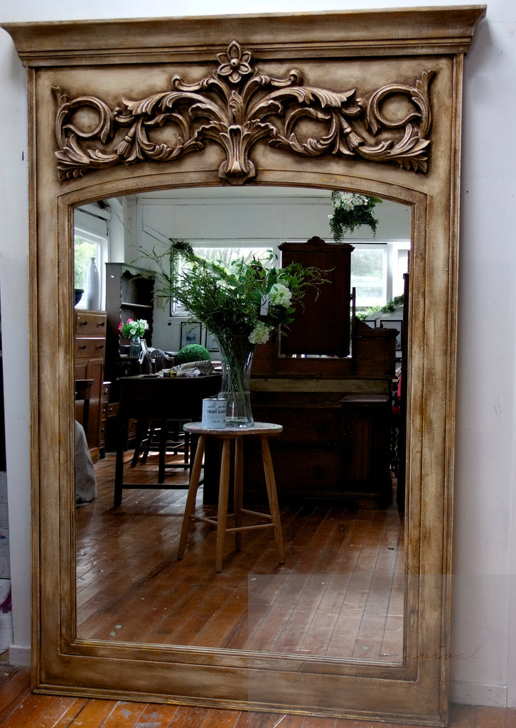 Commissioned, large mirror