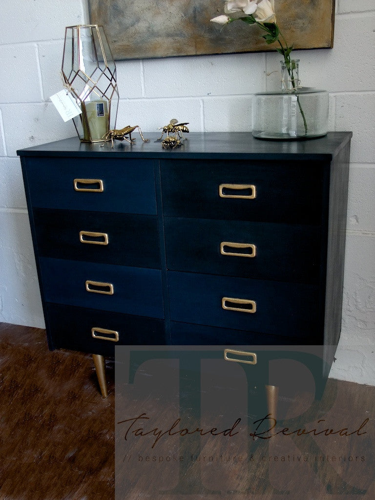 Casey : TR collection #1 2016 - Bespoke mid century modern set of drawers