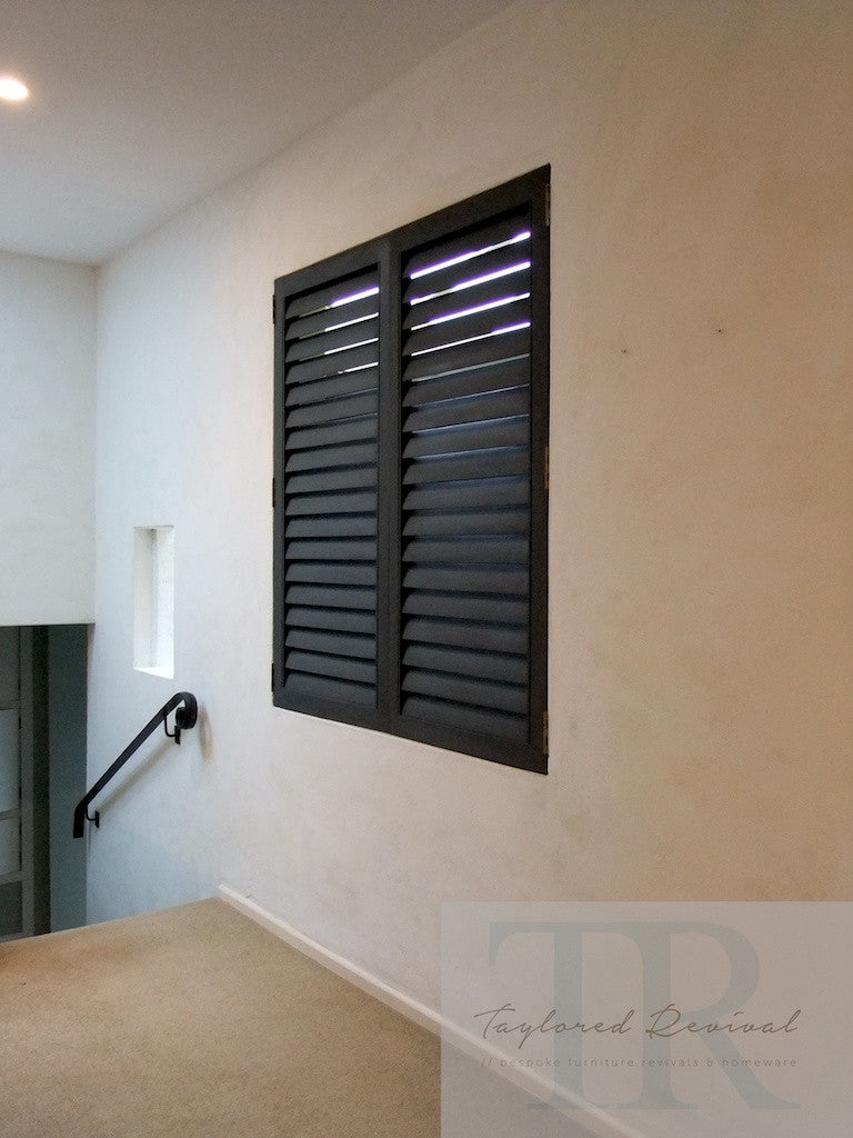 Commissioned internal shutters