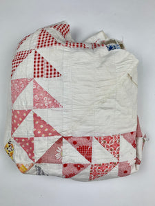 triangle patchwork pet quilt jacket
