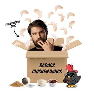 Badass Chicken Wings Box