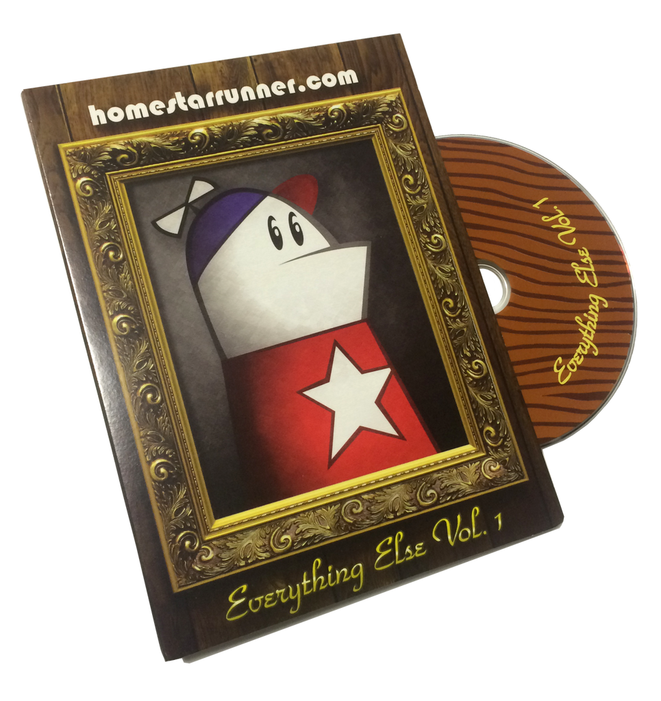 Homestar Runner, Everything Else Vol 1 DVD