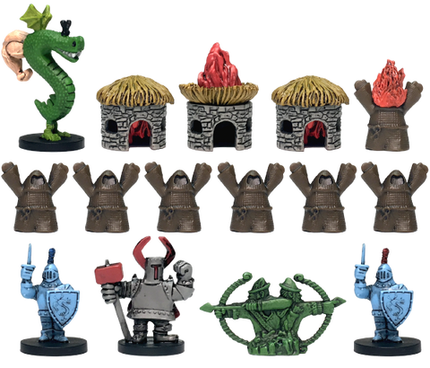 Trogdor!! The Board Game Miniatures