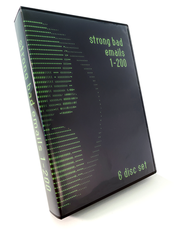Strong Bad Emails 1-200 Six Disc Set