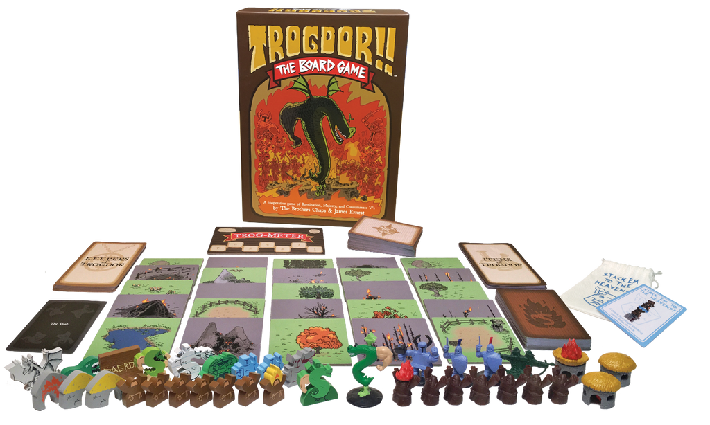 SOLD OUT Trogdor!! The Board Game - Deluxe Version (Burninator)