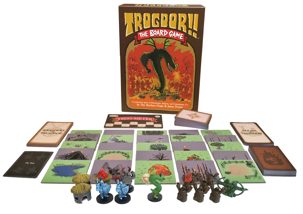 Trogdor!! The Board Game-Back in Stock!