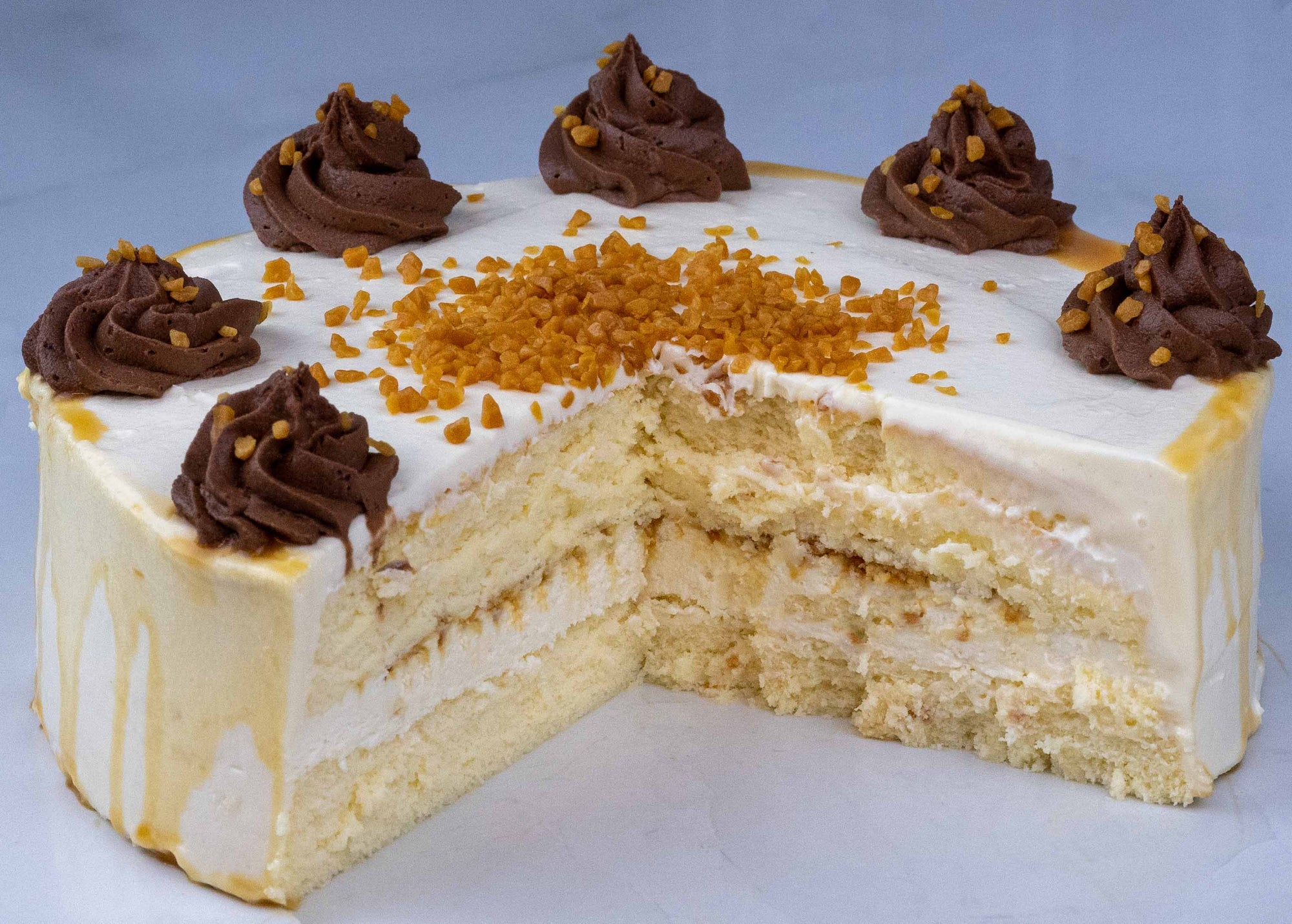 Salted Caramel Japanese Cheesecake 20CM a 6 personen