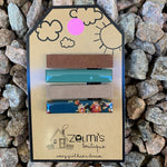 Zelmi's Small Hair Clips 4 Pack