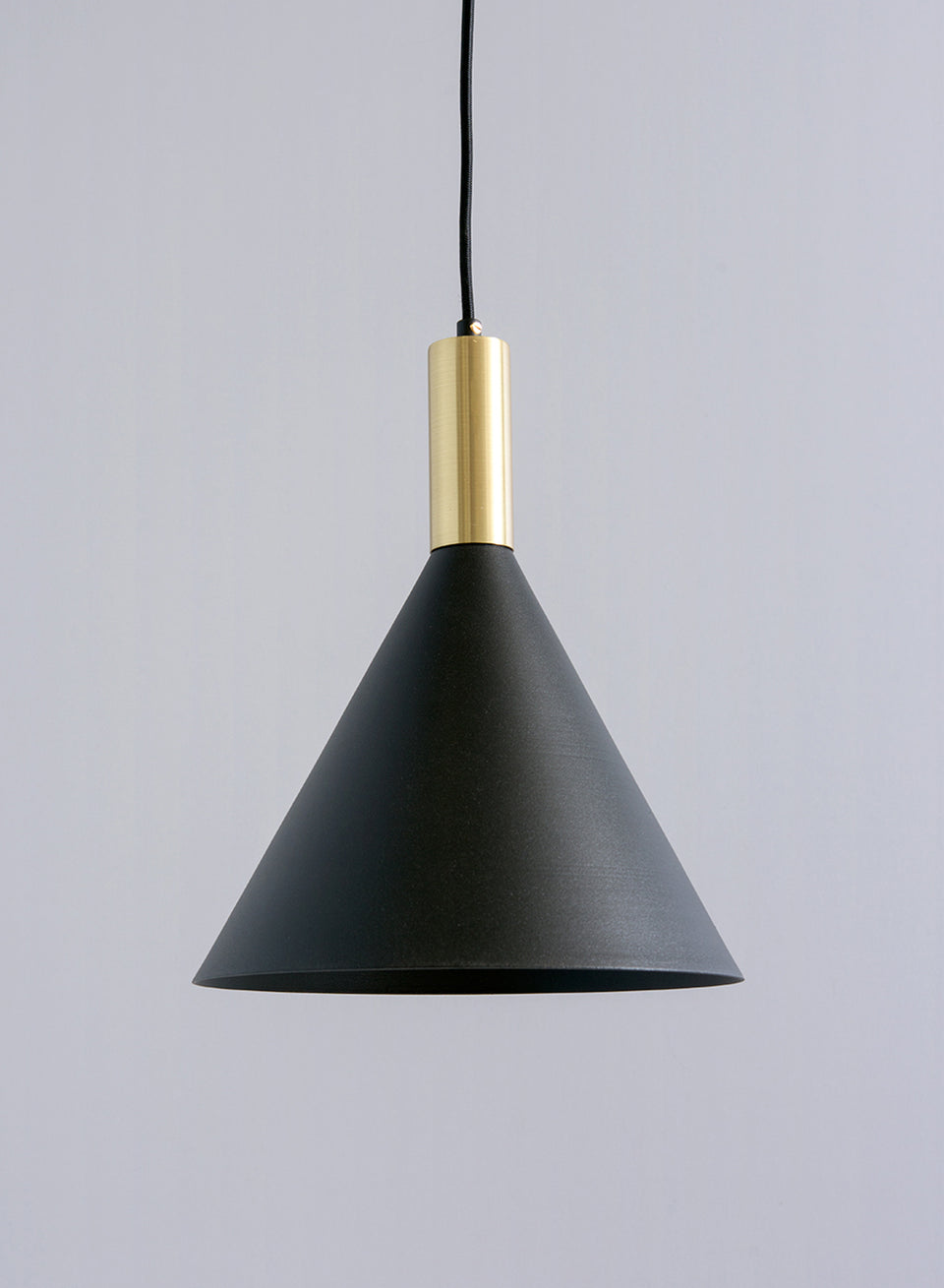 HANGING SMALL CONE brass